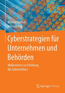 """Cover zum Buch """"Cyberstrategien für Unternehmen und Behörden"""""""
